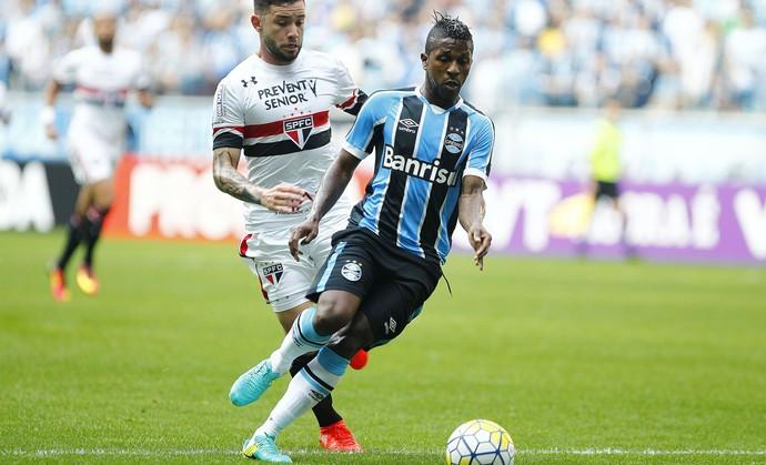 Bolaños  Grêmio x São Paulo (Foto: Lucas Uebel/Divulgação Grêmio)