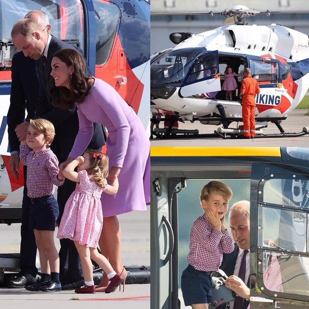 Kate Middleton, príncipe William, George e Charlotte (Foto: Reprodução/ Instagram)