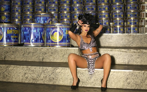 Ensaio de Carnaval - Ana Paula Xavier (Foto: Iwi Onodera / EGO)