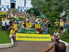 Cidades do litoral norte de SP têm protestos contra corrupção