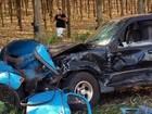 Motorista de carro partido ao meio em batida não tinha habilitação, diz PM