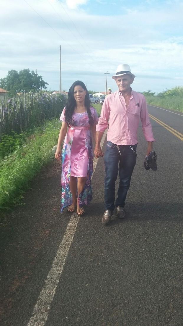 Stefhany Absoluta e Roberto Cardoso (Foto: Arquivo Pessoal)