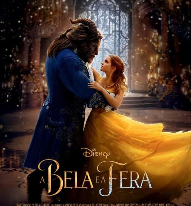 """Cartaz oficial de """"A Bela e a Fera"""" (Foto: Disney - Divulgação)"""