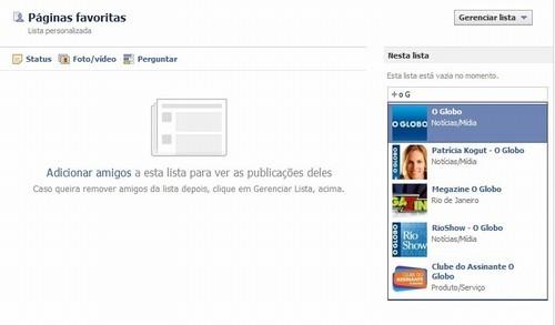c8b997eff6b Saiba como favoritar páginas e amigos no Facebook