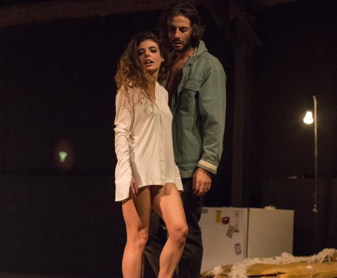Flávio e Natalia se conheceram no teatro (Foto: Arquivo pessoal)