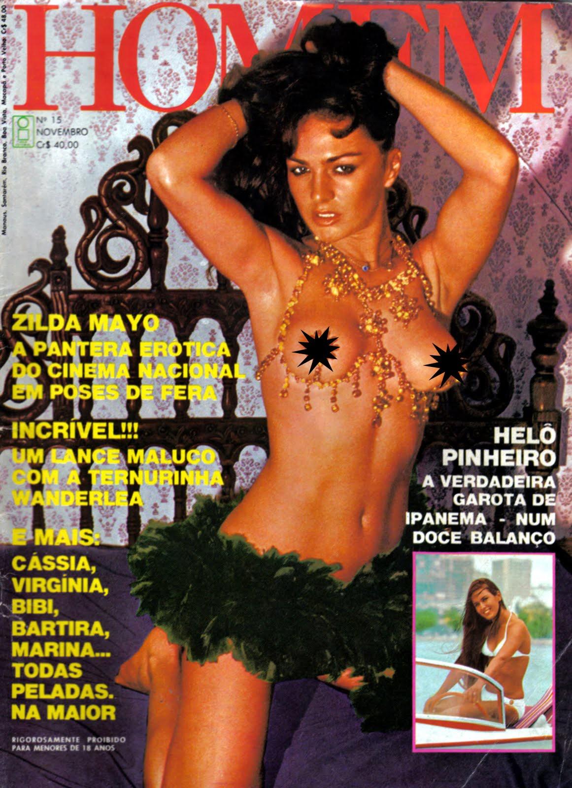 A gaúcha, além de atriz, é bailarina. Entre seus filmes de maior sucesso estão 'A Ilha dos Desejos' (1975), de Jean Garret e 'Coisas Eróticas' (1982), de Raffaele Rossi e L. Callachio, este último com quase 5 milhões de espectadores nas salas de cinema. Foi capa da Playboy de 1983.  (Foto: Reprodução)