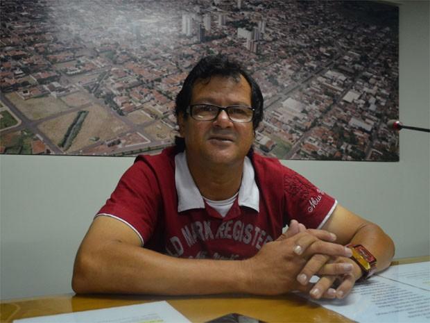 Com apelido da infância, vereador foi mais votado em 2012 em Sertãozinho (Foto: Rodolfo Tiengo/G1)