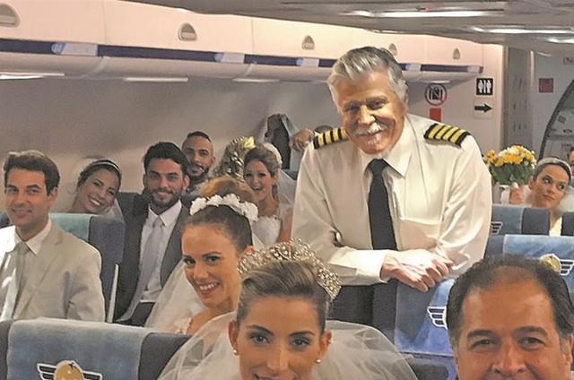 Miguel Falabella é o comandante Vadeco de 'Brasil a bordo' (Foto: Arquivo pessoal)