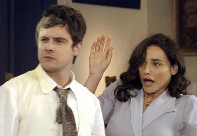 Candinho fica furioso ao descobrir os planos de Cunegundes (Foto: TV Globo)