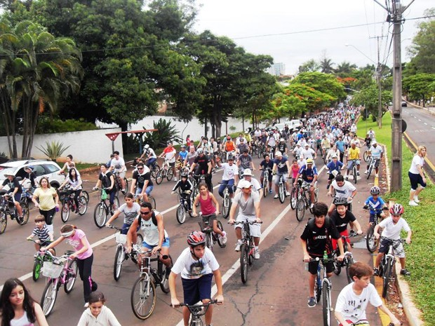 RPC TV na Praça terá pedalada contra as drogas (Foto: Divulgação/RPC TV)