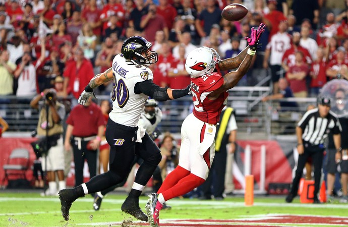 Tony Jefferson Cardinals x Ravens NFL (Foto: Reuters)