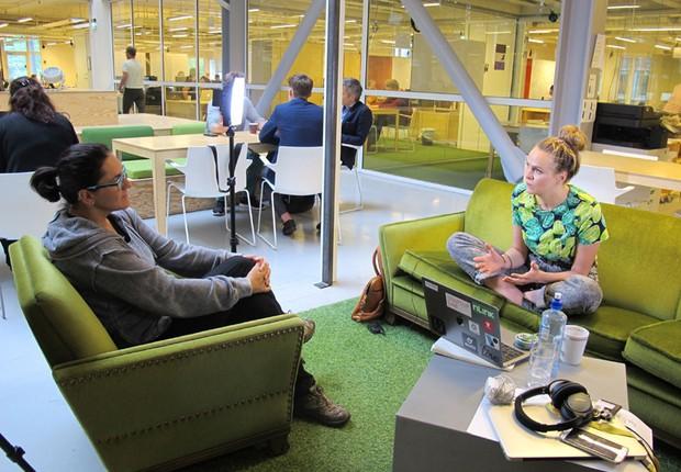 Lauga Oskarsdottir, gestora do StartupLab, incubadora que desde 2012 vem contribuindo para o crescimento de startups de tecnologia (Foto: The Girls on the Road)