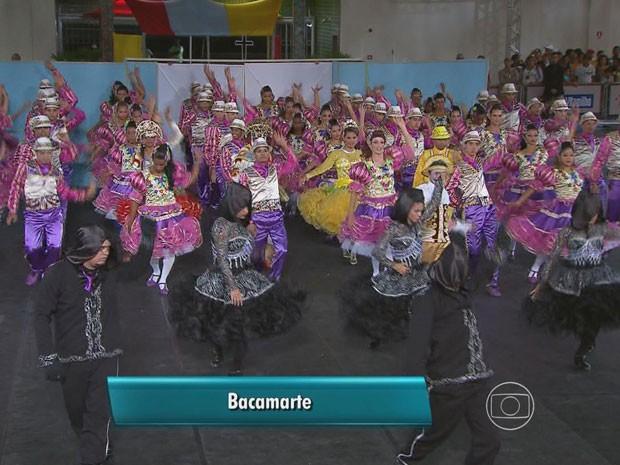 """Filme """"A noiva cadáver"""" inspirou a quadrilha """"Bacamarte"""", do Cabo de Santo Agostinho (Foto: Reprodução / TV Globo)"""