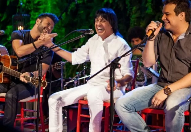 Marciano foi um dos convidados especiais do novo DVD da dupla (Foto: Divulgação)