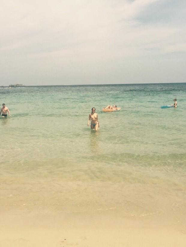 Maria Melilo em Ibiza (Foto: Arquivo Pessoal)