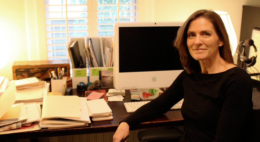 A jornalista Brigid Schulte é autora de best seller sobre a síndrome de exaustão  (Foto: Divulgação)