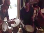 Vídeo: Kanye West toca samba em estúdio do Rio