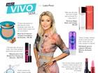 Perfume, make, creme para os cabelos... Veja o top 10 de Luiza Possi