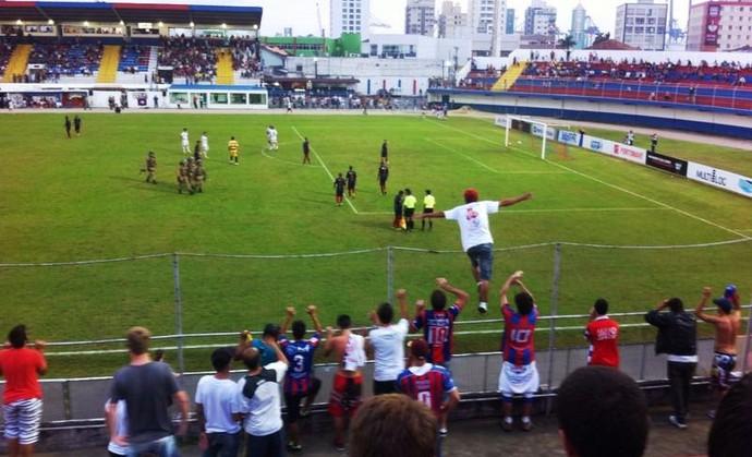 Marcílio Dias x Atlético de Ibirama confusão briga (Foto: Guilherme Luz/Arquivo pessoal)
