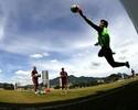 Cavalieri não treina, e Abel confirma Julio César no gol contra a Portuguesa