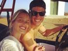 Yasmin Brunet viaja com o namorado, Evandro Soldati