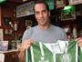 Edmundo, ídolo do Palmeiras, será atração em loja do Verdão em SJC