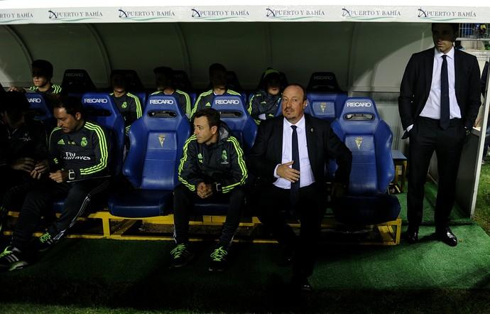 Rafa Benítez Real Madrid x Cádiz (Foto: AFP)