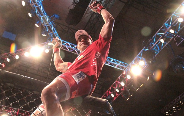 Vitor Belfort UFC Goiânia (Foto: Rodrigo Malinverni)