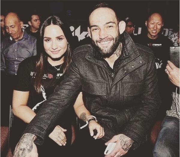 Demi Lovato e o namorado, Guilherme 'Bomba' Vasconcelos (Foto: Instagram)