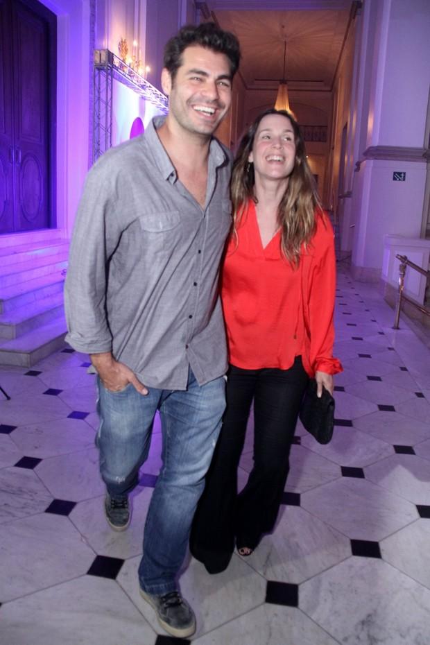 Thiago Lacerda e Vanessa Lóes (Foto: Thyago Andrade / Brazil News)