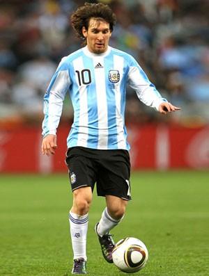 Copa do Mundo 2010 - Messi argentina (Foto: Getty Images)