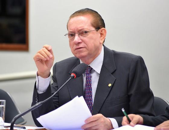 O deputado Edinho Bez (PMDB-SC) (Foto: Zeca Ribeiro / Câmara dos Deputados)