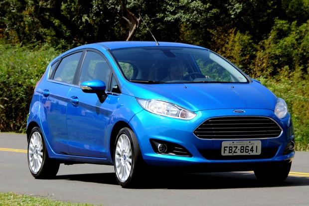 Ford Fiesta (Foto: Divulgação)