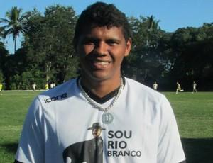 Diego Neves, atacante do Rio Branco-ES (Foto: Deysiane Gagno/Rio Branco AC)
