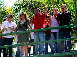 Não é necessário cadastro para utilizar os transportes (Foto: Fernando Silva / Divulgação Prefeitura de Maricá)