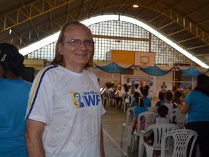 maestro Agostinho da Fonseca (Foto: Karla Lima/G1)