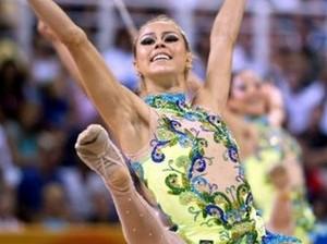 Dayane Camillo, atleta da ginástica rítmica (Foto: Divulgação COB)