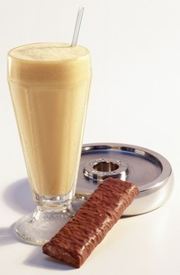 shake e barra de proteína eu atleta (Foto: Getty Images)