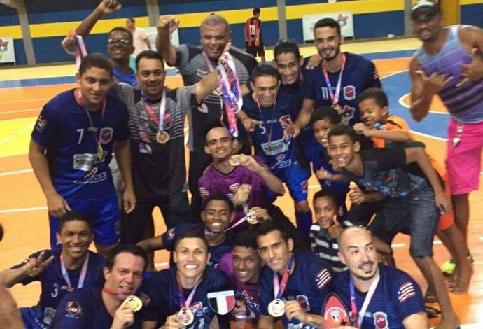 Balsas ficou com o título do Campeonato Maranhense de futsal adulto 2016 (Foto: Divulgação)