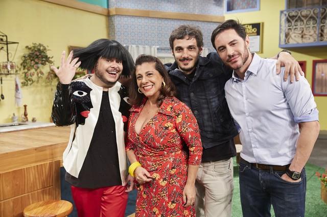 Ricardo Tozzi aparecerá num dos episódios da nova temporada do 'Vai que cola' (Foto: Divulgação/Multishow)