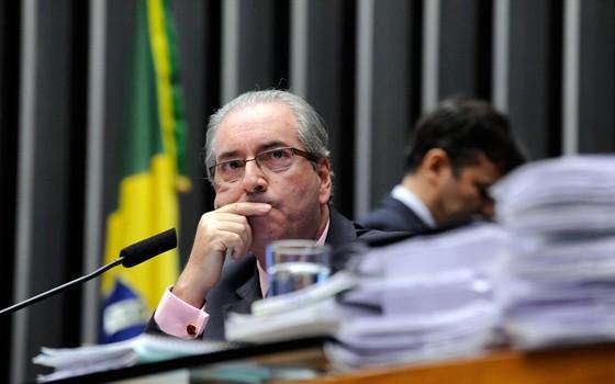 O presidente da Câmara, Eduardo Cunha (Foto: Luis Macedo / Câmara dos Deputados)