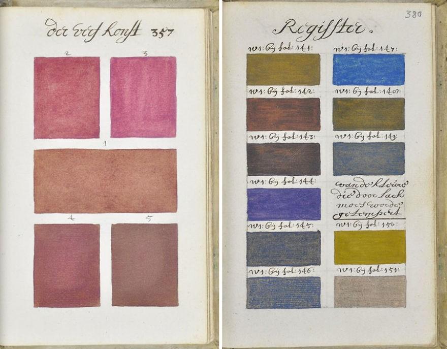 Seleção de cores do livro (Foto: Reprodução)