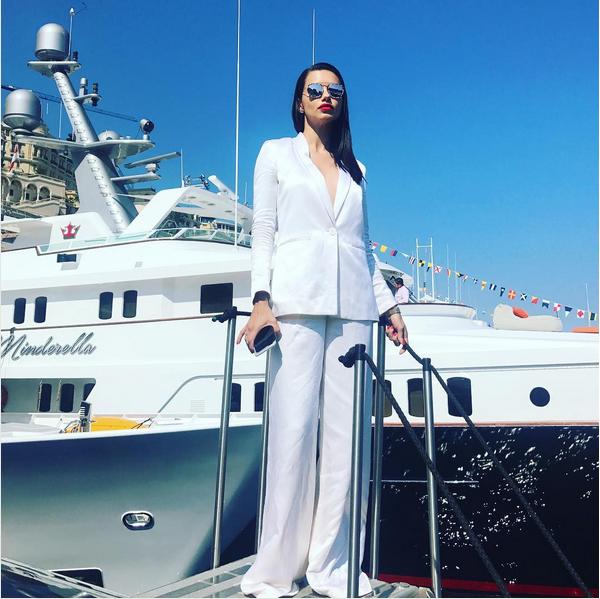 A modelo brasileira Adriana Lima (Foto: Instagram)