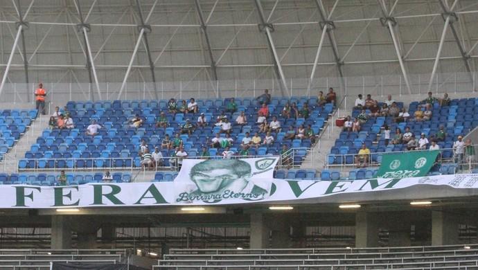 Alecrim 100 anos - Torcida Fera Arena das Dunas (Foto: Reprodução/Alecrim FC)