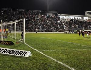 Oeste x Guará, Adriano Alves erra pênalti (Foto: Valentim Baraldi / Divulgação / Oeste FC)