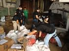 Denarc incinera 1,6 tonelada de crack, maconha e cocaína em Ponta Grossa