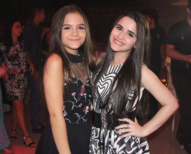 Mel Maia e Letícia Faria Pedro (Foto: AGnews)