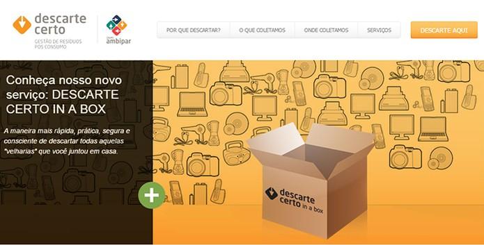 Empresa DescarteCerto oferece serviço de coleta pago e parceria com fabricantes (Foto: Reprodução/Barbara Mannara)