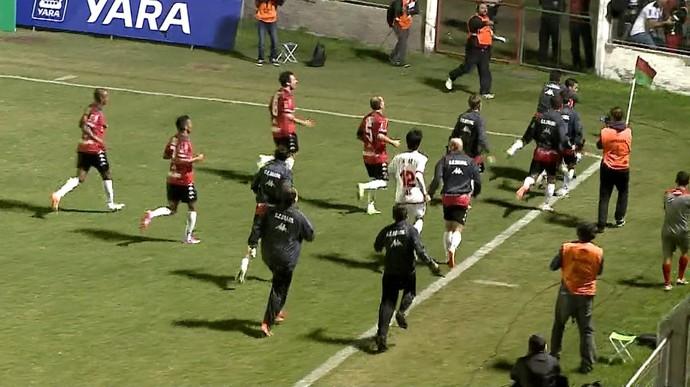 Brasil-PEL Lajeadense Pelotas Campeonato Gaúcho (Foto: Reprodução/RBS TV)