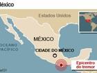 Forte terremoto abala a Cidade do México
